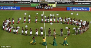 Opening ceremony AFCON 2015