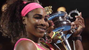 Serena Williams, winner #AO2015